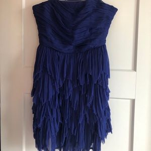 Beautiful purple mini dress from free people small